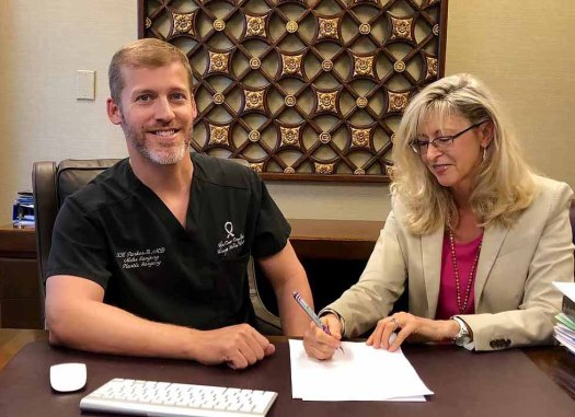 Kristi and Dr. Thornwell (Tripp) Parker III Mohs Skin Cancer Surgeon